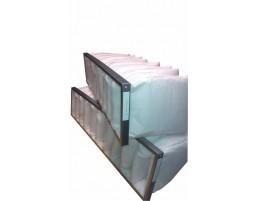 Filtr kieszeniowy VERSO R/P 20 oraz VERSO S 20. B-892x490x14x635