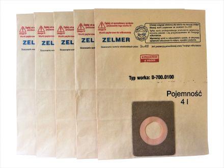 Worki do odkurzacza ZELMER typ 700