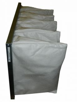 Filtr kieszeniowy G3 490x290x500 5 kieszeni ramka 25 mm