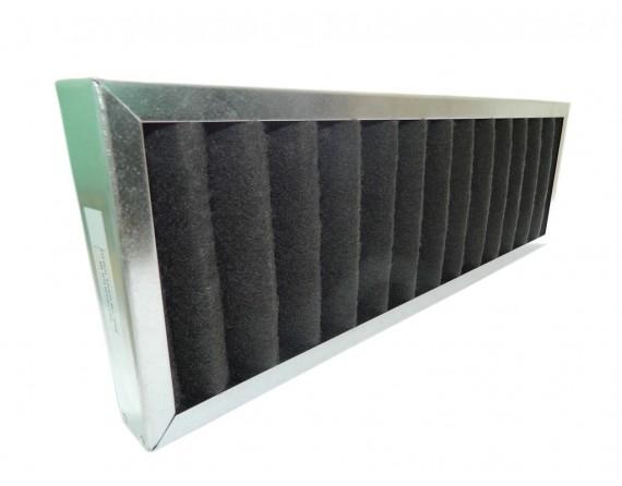 Filtr kasetowy węglowy EU4 do WANAS 550V/2, 550H/2 (590x190x40)