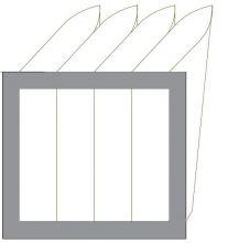 Filtr EU5 do VEKU-1500-HE-R-AC (385x535x240)