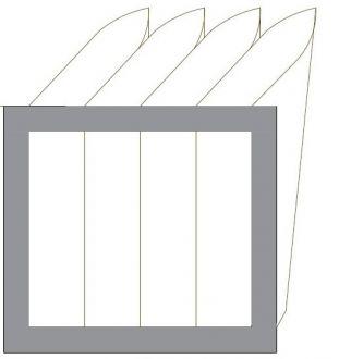 Filtr EU5 do VEKU-1500-HE-R-AC (535x385x240)