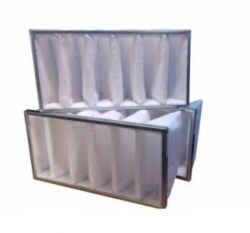 Filtr kieszeniowy EU5 do SALDA RIS 1000 V EKO (650x318x160)