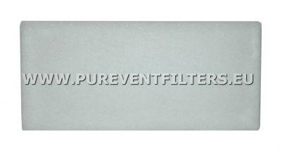 Filtr płaski EU4 do SystemAir PFR 355/400 (443x456)