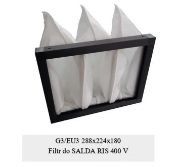 Filtr EU3 do SALDA RIS 400 V (288x224x180)