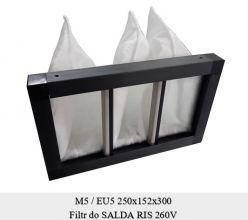 Filtr do SALDA RIS 260 V (250x152x300)