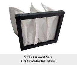 Filtr do Salda RIS 400 H (250x226x170)