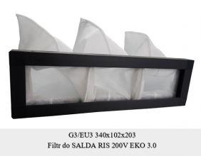 Filtr do SALDA RIS 200V EKO 3.0 (340x102x203)