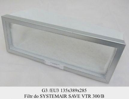Filtr EU3 do SYSTEMAIR VTR 300/B (135x389x285)