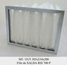 Filtr EU5 do SALDA RIS 700 P (305x234x200)