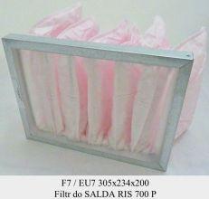 Filtr EU7 do SALDA RIS 700 P (305x234x200)