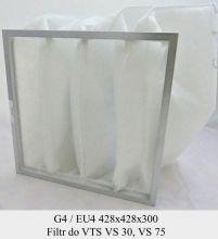 Filtr kieszeniowy G4 do central VTS VS 30, VS 75 (428x428x300)