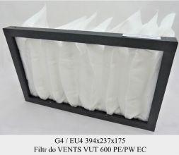 Filtr EU4 do VENTS VUT 600 PE/PW EC (394x237x175)