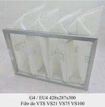 Filtr EU4 do VTS VS21 VS75 VS 100 (428x287x300)