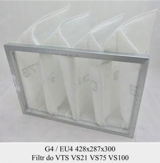 Filtr kieszeniowy EU4/G4 (VSB FLT 64 428x287 code 434  )