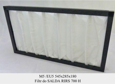 Filtr EU5 do SALDA RIRS 700 H (545x285x180)