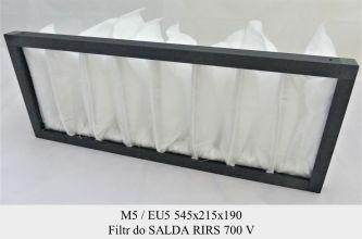 Filtr EU5 do SALDA RIRS 700 V (545x215x190)