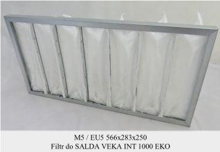 Filtr EU5 do SALDA VEKA INT 1000 EKO (566x283x250)