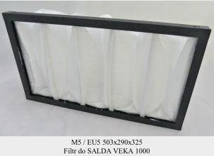 Filtr EU5 do SALDA VEKA 1000 (503x290x325)