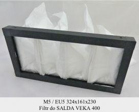 Filtr EU5 do SALDA VEKA 400 (324x161x230)