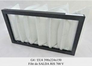 Filtr EU4 do SALDA RIS 700 V (398x224x150)