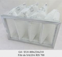 Filtr EU4 do SALDA RIS 700 (400x224x210)