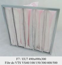 Filtr EU7 do VTS VS 40/100/150/300/400/500 (490x490x300)