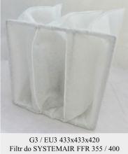 Filtr EU3 do SYSTEMAIR FFR 355 / FFR 400 (433x433x420)