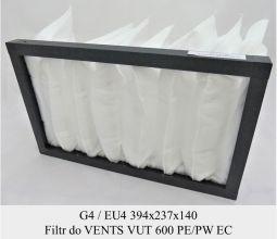 Filtr EU4 do VENTS VUT 600 PE/PW EC (394x237x140)