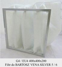 Filtr EU4 do BARTOSZ Vena Silver 5 / 6 (400x400x200)