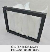 Filtr kieszeniowy EU5 do SALDA RIS 400 VE 224x288x260/140