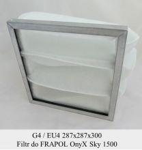 Filtr kieszeniowy EU4 do FRAPO OnyX Sky 1500 (287x287x300)