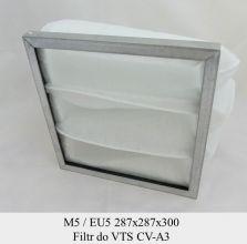 Filtr EU5 do VTS CV-A3 (287x287x300)