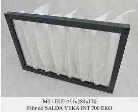 Filtr EU5 do SALDA VEKA INT 700 EKO (431x284x170)