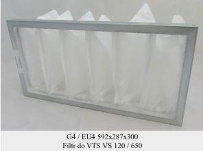 Filtr EU4 do VTS VS 120/650 (592x287x300)