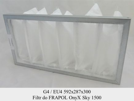 Filtr EU4 do FRAPOL OnyX Sky 1500 (592x287x200)