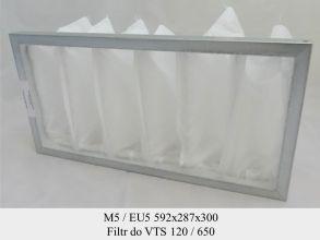 Filtr EU5 do VTS VS 120/650  (592x287x300)