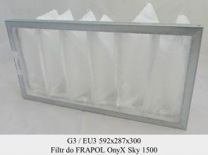 Filtr EU3 do FRAPOL OnyX Sky 1500 (592x287x300)