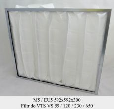 Filtr EU5 do VTS VS 55/120/230/650 (592x592x300)