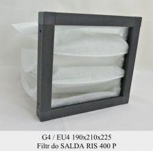 Filtr EU4 do SALDA RIS 400 P (190x210x225)