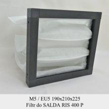 Filtr EU5 do SALDA RIS 400 P (190x210x225)
