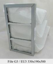 Filtr kieszeniowy EU3 (330x190x500)