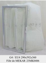 Filtr kieszeniowy EU5 do centrali Mekar 23MK0406 KOD 80653010-1003 (290x592x360)
