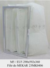 Filtr EU5 do Mekar 23MK0406 KOD 80653010-1003 (290x592x360)
