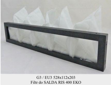 Filtr EU3 do SALDA RIS 400 EKO (528x112x203)