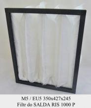 Filtr kieszeniowy EU5 do SALDA RIS 1000 P (350x427x245)