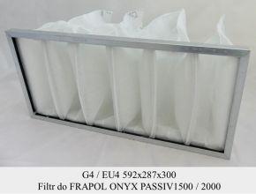 Filtr EU4 do FRAPOL OnyX Passiv 1500 (592x287x300)