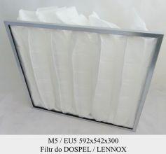 Filtr EU5 do LENNOX i DOSPEL (592x542x300)