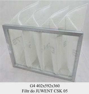 Filtr EU4 do JUWENT typu CSK 05 (402x592x360)