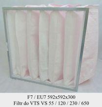 Filtr EU7 do VTS VS 55/120/230/650 (592x592x300)